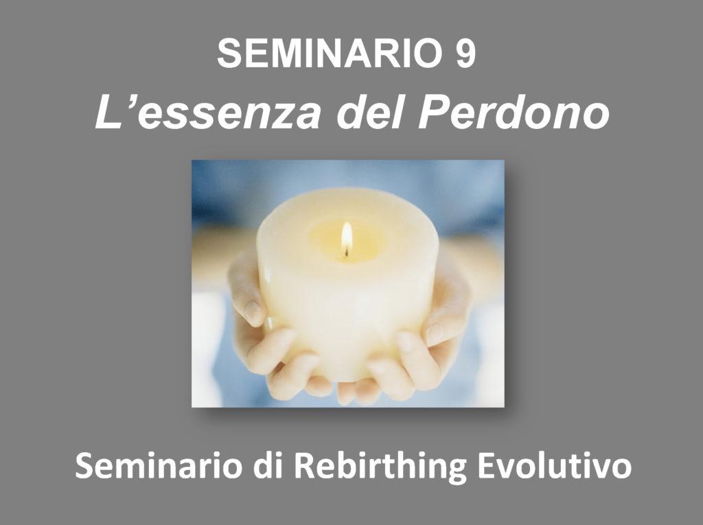 seminario 9 La forza del Perdono